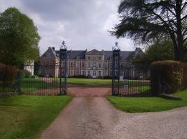Chambres d'hôtes du Château de Grand Rullecourt, Grand Rullecourt (рядом с городом Estrée-Wamin)