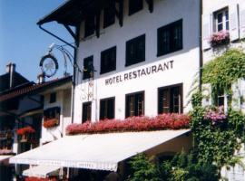 Hotel de Ville, Gruyères (Enney yakınında)