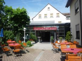 Hotel Drei Kronen, Burgkunstadt (Altenkunstadt yakınında)