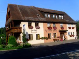 Gasthof Zur frohen Einkehr, Reichardsroth (Adelshofen yakınında)