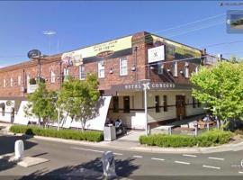 Concord Hotel, Sidney (Mortlake yakınında)
