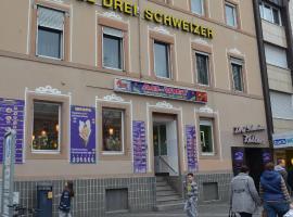 Hotel Drei Schweizer, Neuwied
