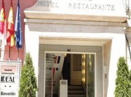 Hotel Ideal, Villarrobledo (рядом с городом Сокуэльямос)