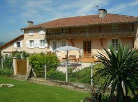 Le Clos Fleuri, Caumont (рядом с городом Sentaraille)