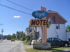 Motel Royal, Cabano (Degelis yakınında)