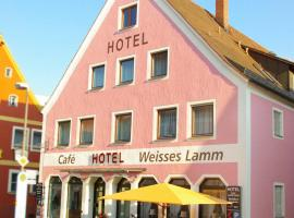 Hotel Weisses Lamm, Allersberg (Freystadt yakınında)