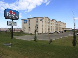 Pomeroy Inn and Suites Dawson Creek, Dawson Creek (Pouce Coupé yakınında)