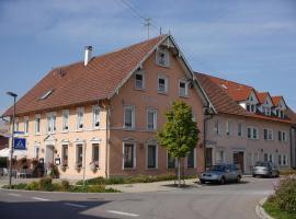 Gasthof Adler, Inneringen-Hettingen (Altheim yakınında)