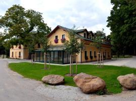 Resort Johanka, Kamenice nad Lipou (Vlasenice yakınında)