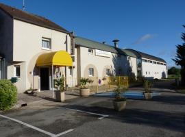 Hotel de la Gare, Saint-Mihiel (рядом с городом Courouvre)