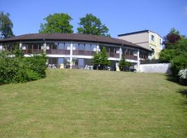 Hotel Garni Seeblick am Sankelmarker See, Oeversee (Großsolt yakınında)
