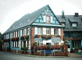 Logis Hotel Aux Comtes De Hanau, Ingwiller (рядом с городом Wimmenau)