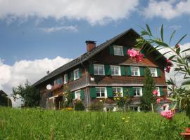 Appartement Rüscher, Andelsbuch (Egg yakınında)