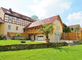Landhotel Altes Pfarrhaus, Bilzingsleben (Hachelbich yakınında)