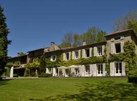 Chambres d'Hôtes Domaine du Hameau Baylesse, Saint-Jean-d'Aigues-Vives (рядом с городом Lavelanet)