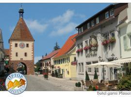 TIPTOP Hotel Garni Pfauen, Endingen (Bahlingen yakınında)