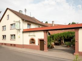 Weingut und Gästehaus Vongerichten, Oberhausen (Freckenfeld yakınında)