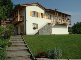 Farm stay Šibav B&B, Dobrovo (Lonzano yakınında)