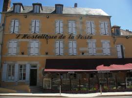 Hostellerie De La Poste, Clamecy (рядом с городом Crain)