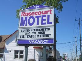 Rosecourt Motel, Stratford (Saint Marys yakınında)
