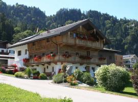 Appartement Kichelerhof, Strass im Zillertal