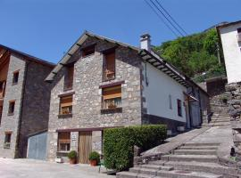 Apartamentos Casa Borja, Salinas de Bielsa (La Fortunada yakınında)