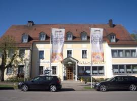 Hotel - Restaurant Kastanienhof Lauingen, Lauingen (Echenbrunn yakınında)