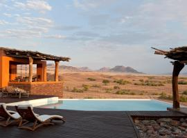 Okahirongo Elephant Lodge, Purros (Near Skeleton Coast)