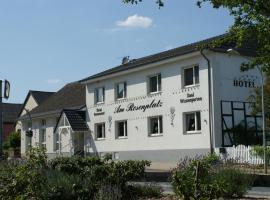 Hotel Garni - Am Rosenplatz, Brechtorf (Kusey yakınında)