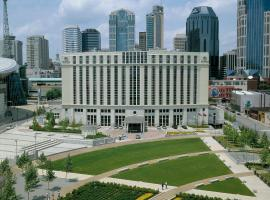 Hilton Nashville Downtown 4 Star Hotel