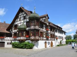 Drachenburg & Waaghaus, Gottlieben (Tägerwilen yakınında)