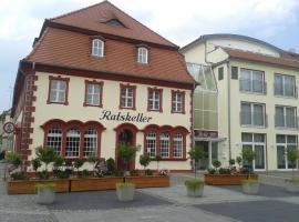 Garni-Hotel zum alten Ratskeller, Vetschau (Werchow yakınında)