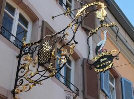 Restaurant Hotel Zum Storchen, Waldkirch (Sexau yakınında)