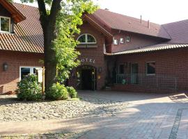 Hotel Restaurant Am Pfauenhof, Quakenbrück (Badbergen yakınında)