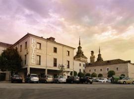 Hotel II Virrey, Эль-Бурго-де-Осма (рядом с городом Ла-Раса)