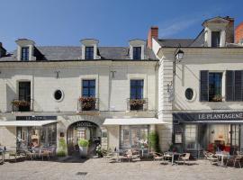 Hotel La Croix Blanche Fontevraud, Fontevraud-l'Abbaye