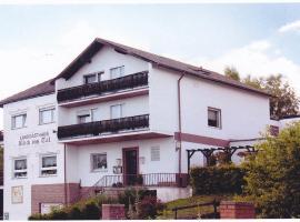 Landgasthaus Blick ins Tal, Wißmannsdorf (Bettingen yakınında)