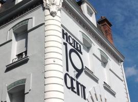 Hôtel 19'Cent, Ле-Крёзо (рядом с городом Le Breuil)