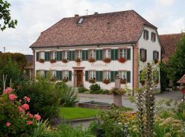 Gasthaus Rebstock Egringen, Efringen-Kirchen (Fischingen yakınında)