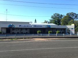 Railway Hotel Bundaberg, Bundaberg (North Coast yakınında)