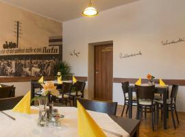 Hotel & Restaurant U NEDBÁLKŮ, Ostrovačice (Tetčice yakınında)
