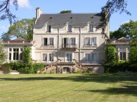 Appartement du Château du Grand Bouchet, Ballan-Miré (рядом с городом Saint-Genouph)