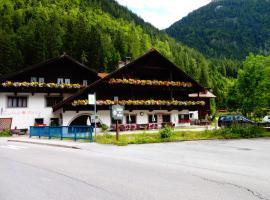 Gasthof zur Mühle, Leutasch (Scharnitz yakınında)