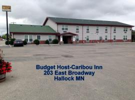 Budget Host Caribou Inn, Hallock (Emerson yakınında)