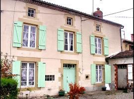 Chambres d'Hotes de Bel Air, Saint-Bonnet-de-Bellac (рядом с городом Peyrat-de-Bellac)