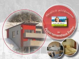 Appartementhaus Evelyn, Schladming (Rohrmoos yakınında)