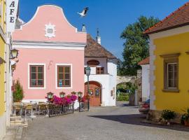 unser rosa Haus für Sie, Rust