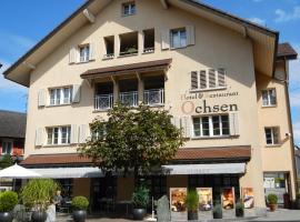 Hotel Ochsen, Menzingen (Oberägeri yakınında)