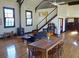 The Scout Hall, Harcourt (Ravenswood yakınında)