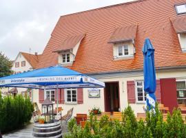 Pension Webstuhl, Deizisau (Wernau yakınında)
